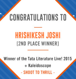 TATA LitLive2015 + Kaleidoscope : Shoot To Thrill 2nd Place Winner
