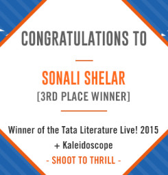 TATA LitLive2015 + Kaleidoscope : Shoot To Thrill 3rd Place Winner