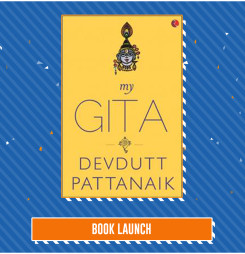 BOOK LAUNCH: My Gita by Devdutt Pattanaik