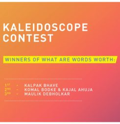 Kaleidoscope Contest Winners – What Are Words Worth