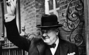 Churchill in 1943 CREDIT: AFP PHOTO-/AFP/GETTY IMAGES/AFP PHOTO-/AFP/GETTY IMAGES
