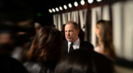 Harvey Weinstein after the 2016 Academy awards ceremony. Photograph: Axel Koester/Corbis via Getty Images